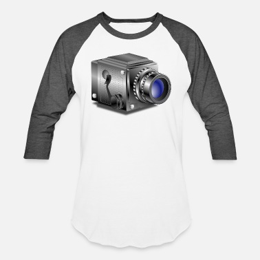 Old Camera camera - Baseball T-Shirt