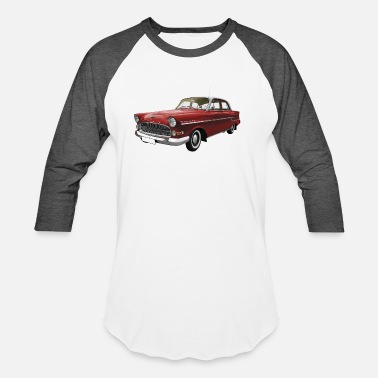 Retro Car retro car - Unisex Baseball T-Shirt