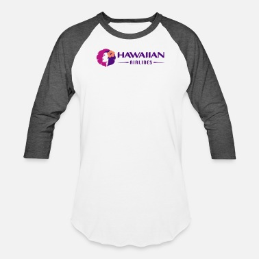 Airline Hawaiian - Baseball T-Shirt