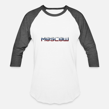 National Colors Moscow - National Colors - Kremlin - Unisex Baseball T-Shirt