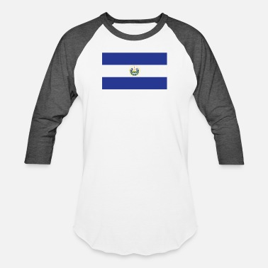 El Salvadorian Flag of El Salvador Cool El Salvadorian Flag - Baseball T-Shirt