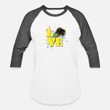 Loves Photography Love for Photography - Baseball T-Shirt