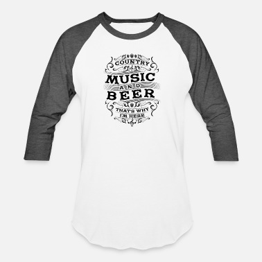 Music Festival Country music Festival Beer Gift - Unisex Baseball T-Shirt
