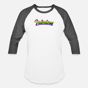 Gay Pride Parade Gay And Fabulous Pride Parade Support Equality - Unisex Baseball T-Shirt
