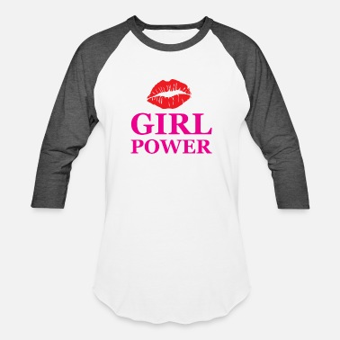 Girl Power Fun Girl power - Baseball T-Shirt