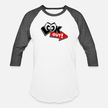 Look Out Look Out! - Unisex Baseball T-Shirt