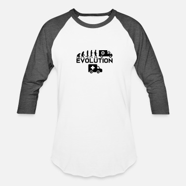 Emergency Rescue Rescue Shirt - Emergency call - Evolution - Baseball T-Shirt