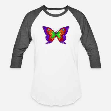 Nickelback Classic Rock Butterfly - Unisex Baseball T-Shirt