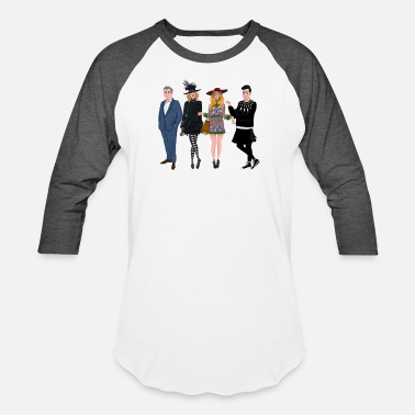 Creek Schitt s Creek Cartoons Characters T Shirt - Unisex Baseball T-Shirt