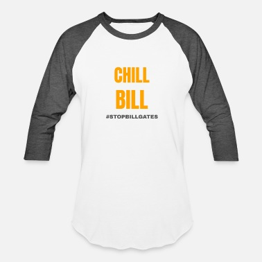 Mobile chill bill gates - Unisex Baseball T-Shirt