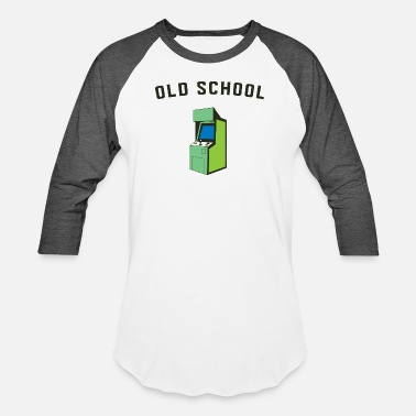 Porn Old Gamer - Old School Gamer - Baseball T-Shirt