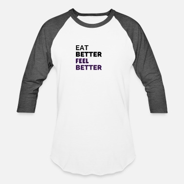 Nutrition Nutrition is key - Unisex Baseball T-Shirt
