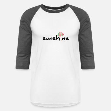 c7718315 Friends Umbrellas sunshine umbrella shirt design - Unisex Baseball T-Shirt