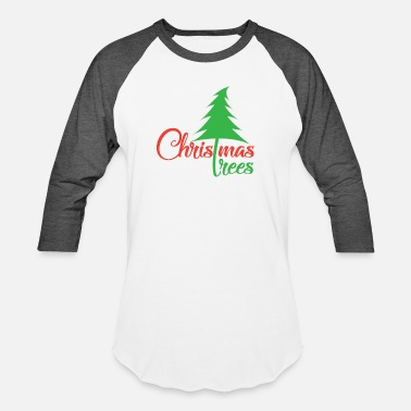 Christmas Tree Christmas tree - Baseball T-Shirt