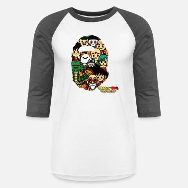 9973c8697 4xl Dragon Ball Dragon Ball x Bape - Unisex Baseball T-Shirt