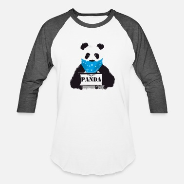 Police Humor panda search Police Demo anti humor Style lol fun - Baseball T-Shirt
