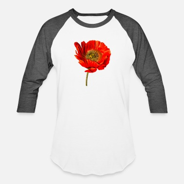 Opium Opium poppy 2 (detailed) - Unisex Baseball T-Shirt