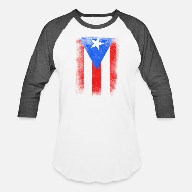 6865f3312b2 Puerto Rico Puerto Rico State Flag Distressed Vintage Shirt - Unisex  Baseball T-Shirt
