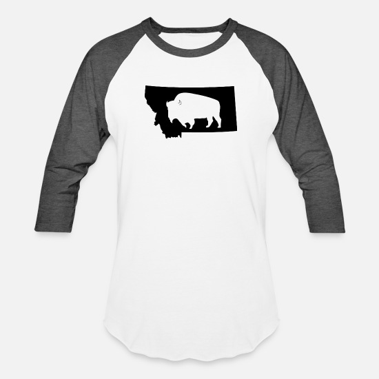 Long Sleeve Shirt Bison Happy Tee Shirt Design