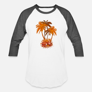 Tropical Tropical Sunglasses - Baseball T-Shirt