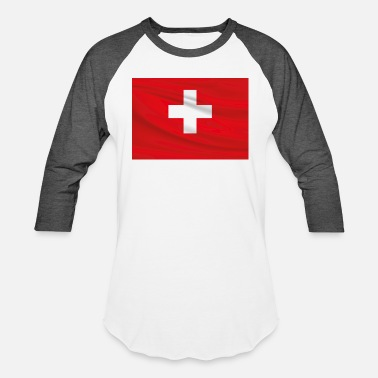 Red Switzerland switzerland - Baseball T-Shirt