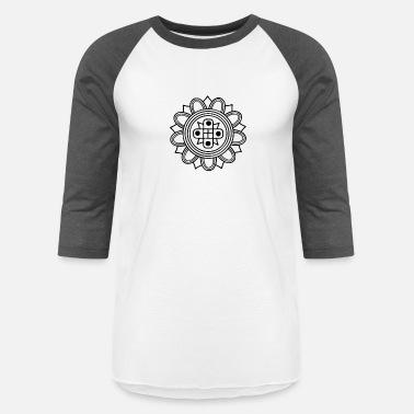 d78b699e5cf Old Indian indian fashion old pattern - Unisex Baseball T-Shirt