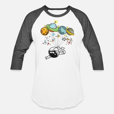 Graphic Space Travel Graphic Hot Tee For Kids, Men & Women - Baseball T-Shirt