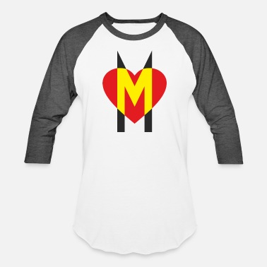 Motherly Love A strong sign of motherly love - Unisex Baseball T-Shirt