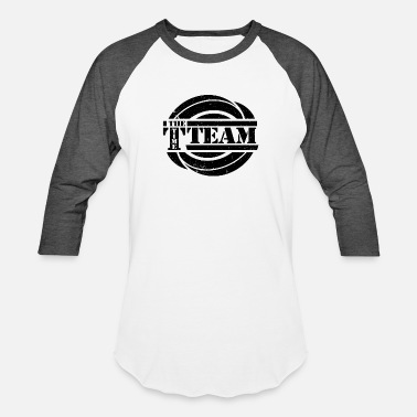 Time Team Timeless - The Time Team Lifeboat - Unisex Baseball T-Shirt