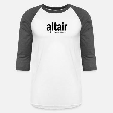 38750304 Altair Micro Computers Retro 80s Homebrew Fun - Unisex Baseball T-Shirt