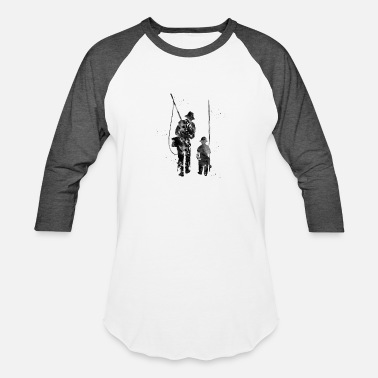 Fisherman Fisherman - Baseball T-Shirt