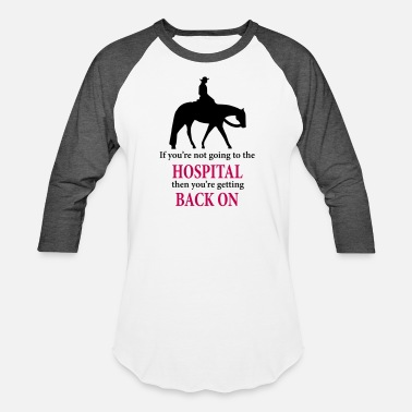 Western Quarter Horse: Western Pleasure with Quote - Unisex Baseball T-Shirt