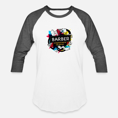 Barber Birthday BARBER - Baseball T-Shirt