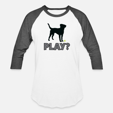 Golden Retriever Tennis Ball Pup Play Puppy Play - Unisex Baseball T-Shirt