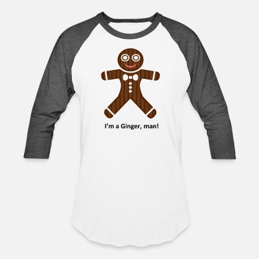 Ginger Isle of Ginger, man - Baseball T-Shirt