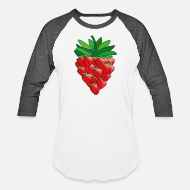 strawberry - Unisex Baseball T-Shirt