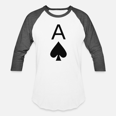 Ace Of Spades Funny Ace Of Spades - Baseball T-Shirt