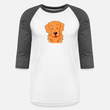 2b727a51 Golden Retriever Dog Drawing cute Gift idea - Unisex Baseball T-Shirt