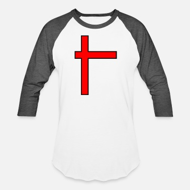 Cross Cross - Unisex Baseball T-Shirt