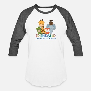 Trunk Friendship comes in all forms - Unisex Baseball T-Shirt