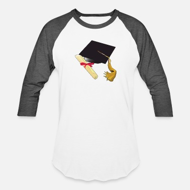 High School Graduate Graduation school kindergarten high school - Unisex Baseball T-Shirt