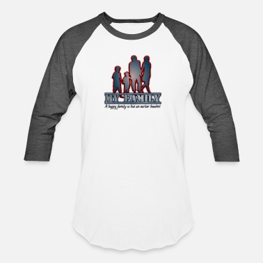 U.s. Open MY FAMILY - Unisex Baseball T-Shirt