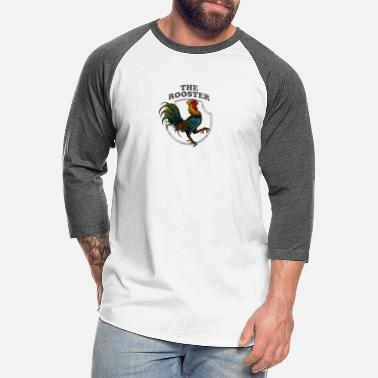 Rooster The Rooster - Unisex Baseball T-Shirt