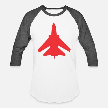 Fighter fighter - Unisex Baseball T-Shirt