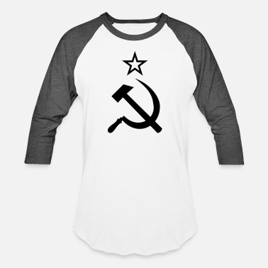 Hammer And Sickle Hammer and Sickle - Unisex Baseball T-Shirt