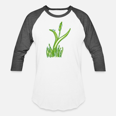 Grass grass man - Unisex Baseball T-Shirt