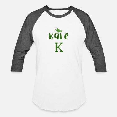 Silent I Prefer My Kale With A Silent K - Unisex Baseball T-Shirt