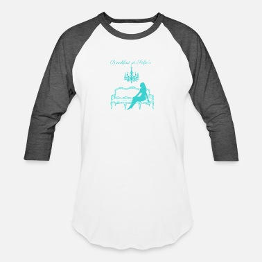 Sofie Breakfast at Sofie's logo (tiffany blue) - Baseball T-Shirt