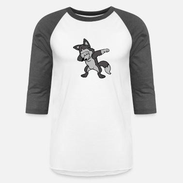 Dabbing Dab Dancing Pets Dogs Siberian Husky Wolf Mens Premium T