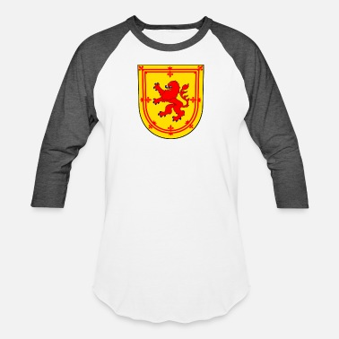 Scot Scotland Coat of Arms King of Scots - Unisex Baseball T-Shirt